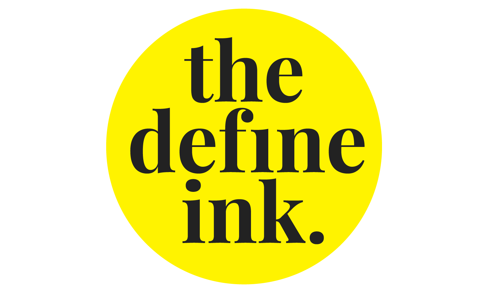 The Define Ink